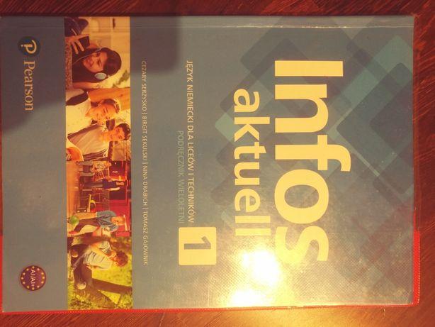 Książka do języka niemieckiego 1 liceum po szkole Podstawowej