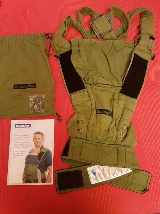 Nosidło Verde oliva/ zielony oliwkowy, ergonomiczne nosidło dla niemow Radzymin - image 1