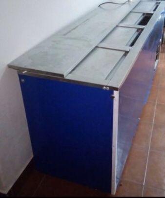 Arca de frio de 3 gavetas para bebidas