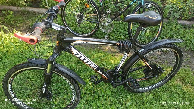 Велосипед горний  TOTEM QUICK.
