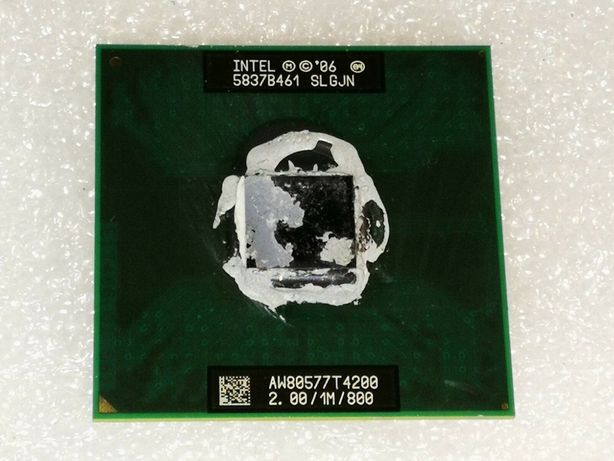 CPU Proçessador Intel Pentium Dual Core T4200 - 2 GHz/1M/800 _Socket P