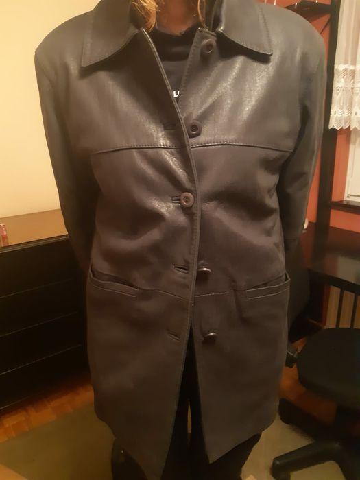 Kurtka skórzana płaszcz,  skóra owcza, podpinka, rozmiar M Luboń - image 1