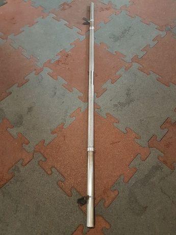 Gryf prosty Hes 150cm 30mm 8.5kg obciazenie hantle sztanga