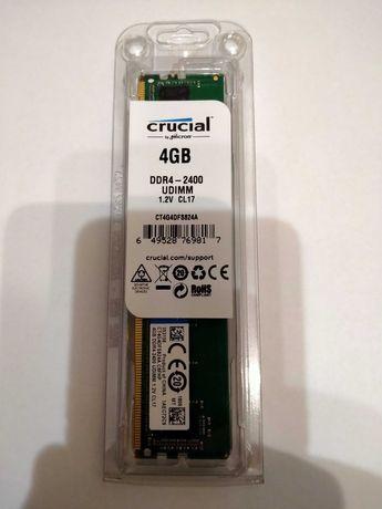 Новая память для ПК Crucial DDR4 4GB (2400)