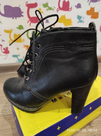 Кожаные ботинки T.Taccardi р. 37