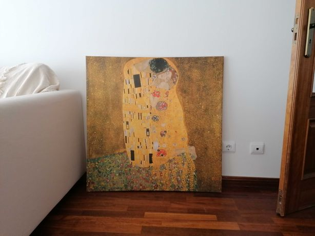 """Quadro IKEA """"O Beijo"""" de Klimt"""
