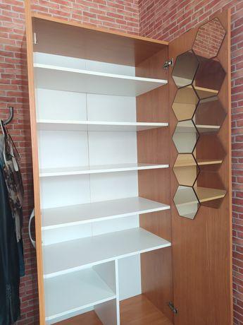 Armário de Prateleiras 1.80m c/ Espelhos IKEA
