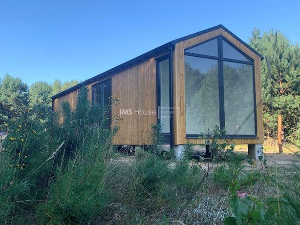 Dom modułowy na zgłoszenie 35 m2 bez pozwolenia