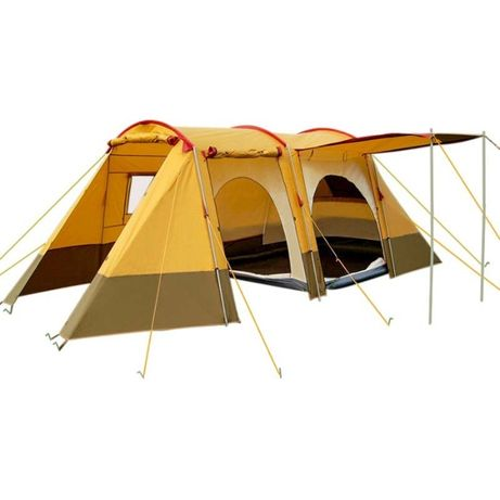 Двухслойная палатка пятиместная Mimir Х-1700,3 входами и тамбуром