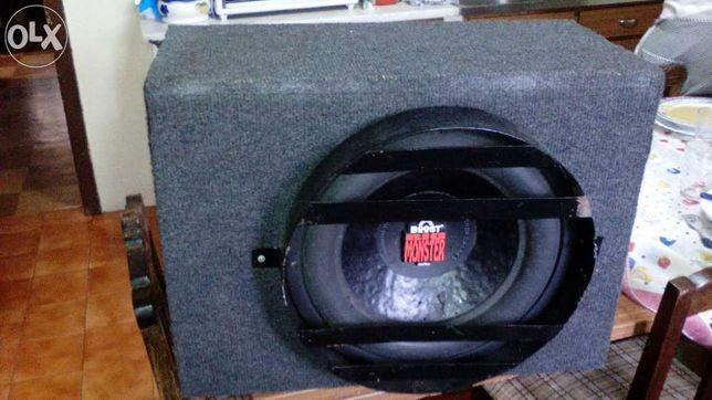 subwoffer e amplificador 1200watts