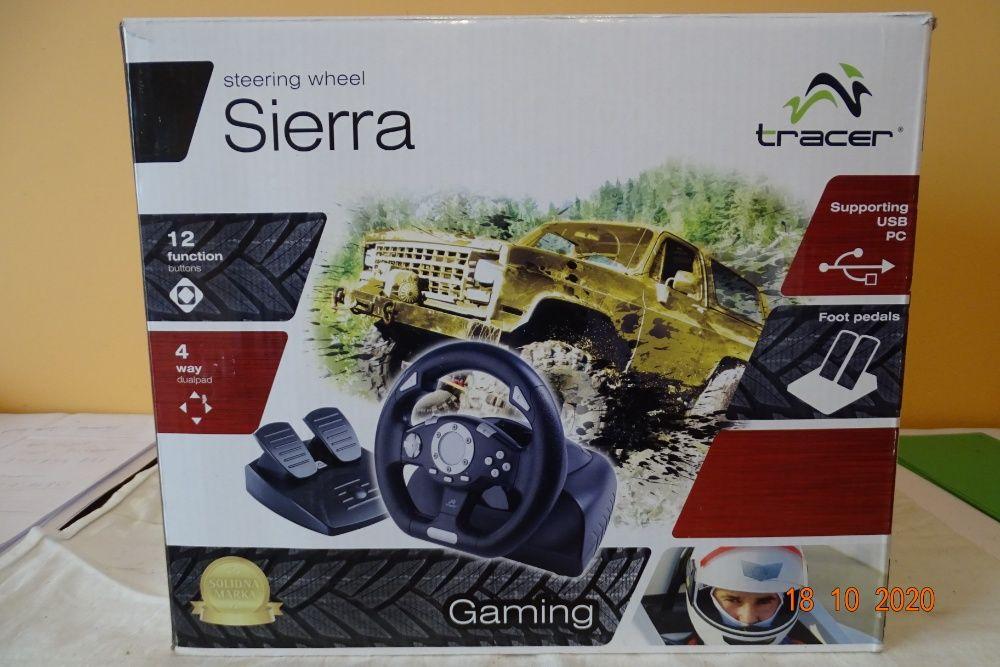 kierownica Sierra firmy Tracer, komplet, mało używana, sprawna. Dębogóra - image 1