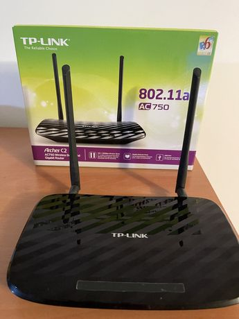 Router TP-Link Archer C2 Wireless Dual Band Gigabit