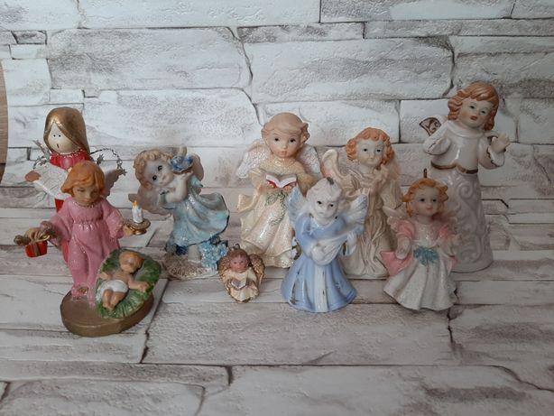 Aniołki- zestaw figurek