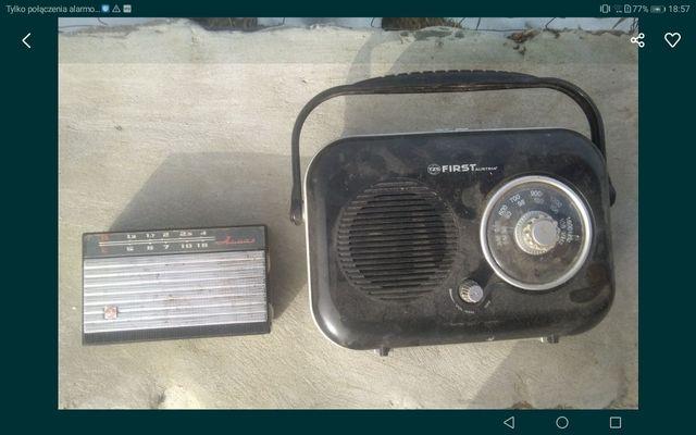 Stare radia TZS first i rosyjskie