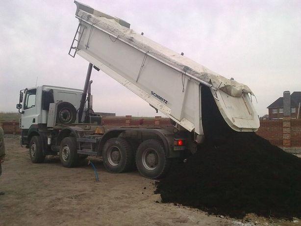 Чернозем для дач участков озеленения песок щебень подсыпка пиломатериа