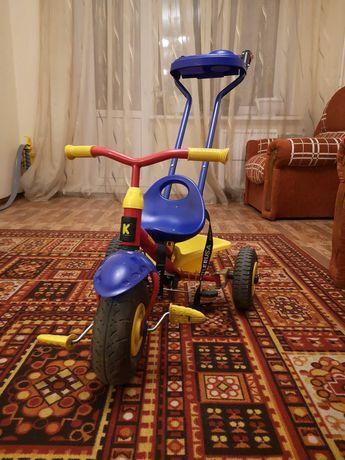 Детский велосипед - коляска