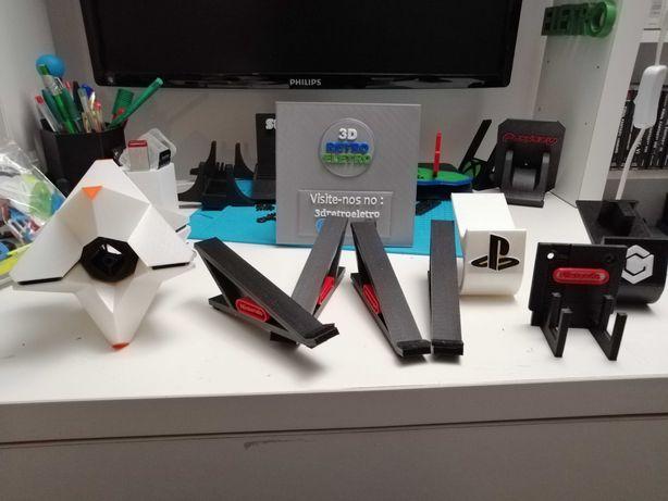 Suportes impressos em 3D para Todas Consolas, PS, XBOX, Sega, Nintendo