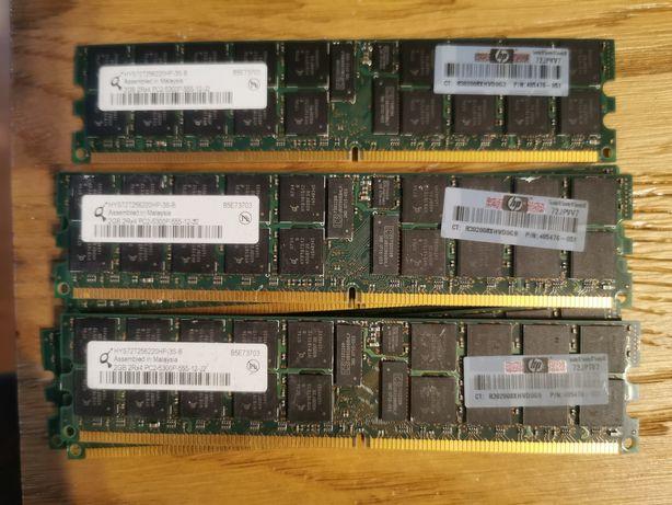 RAM 2GB 2Rx4 PC2-5300P-555-12 do PC