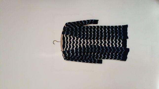 Narzutka , cienki sweterek czarny
