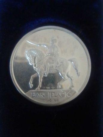 Moeda em prata de coleção