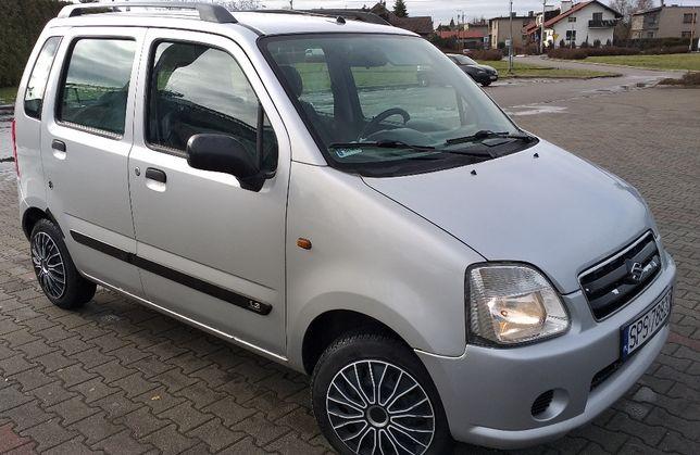 Suzuki Wagon R+ (Opel Agila) benz.94KM, klima.