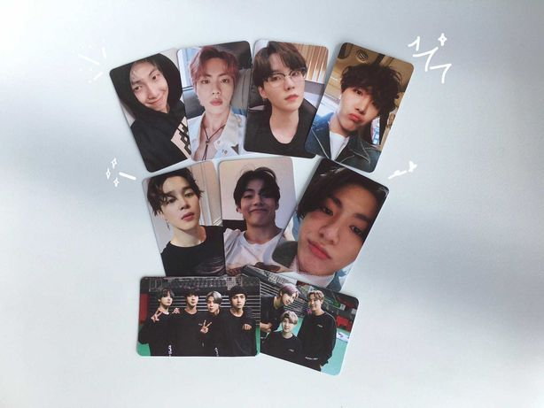 BTS Selca Fanmade Photocards