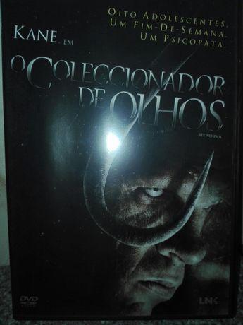 Filme DVD O Colecionador de Olhos Ano 2006