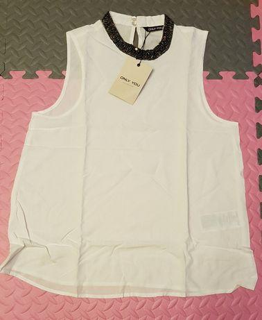 Nowa bluzka Only Bluzka Cloud Dancer Koszule Kobiety