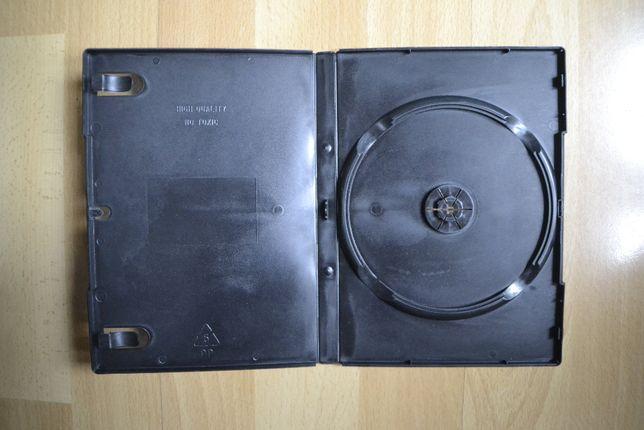 Pudełko do płyt DVD, CD, BLU-RAY, miejsce na jedno CD.