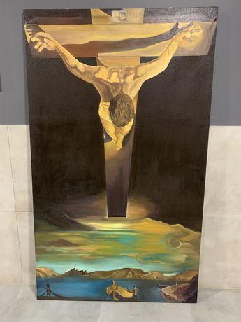 Obraz ręcznie malowany na płótnie - Salvador Dali Ukrzyż.św. Jana