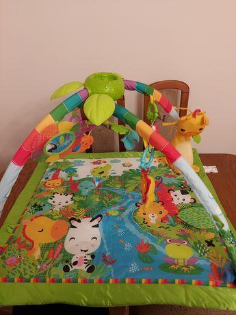 Mata edukacyjna dla niemowląt Fisher Price Rainforest