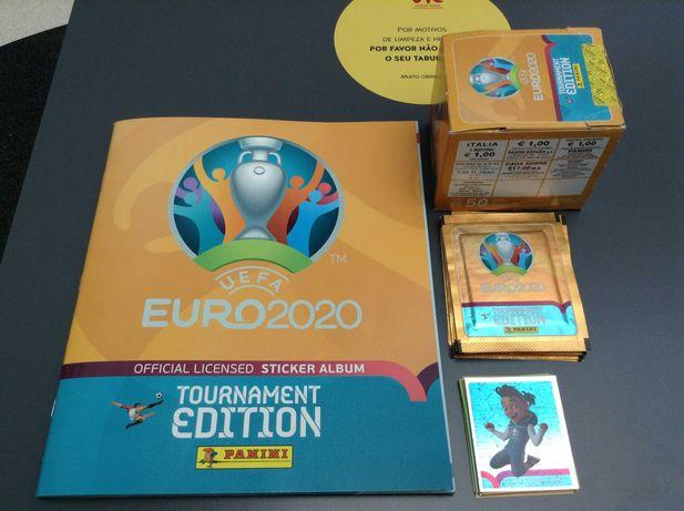 Caderneta EURO 2020 Panini Completa  678 cromos por colar NOVA
