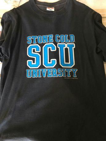 "WWE T-shirt Stone Cold Steve Austin ""Stone Cold University"""