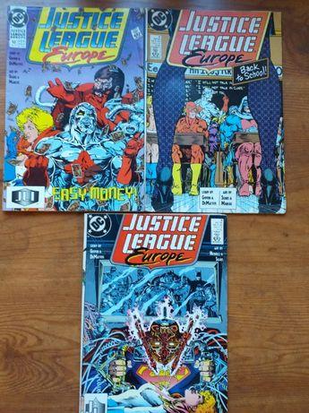 Komiks dc Justice League Europe