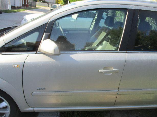 Opel Zafira B drzwi lewe przednie lewy przod Z167 Idealne