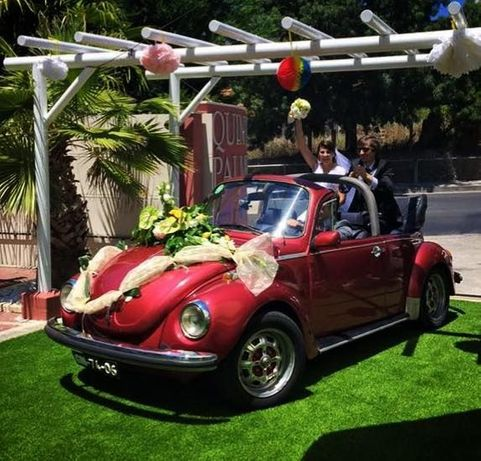 Aluguer VW Carocha Cabrio (Fusca)