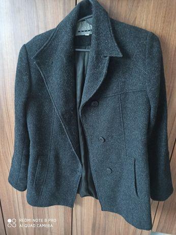 Płaszcz ciepły prosty 36 S