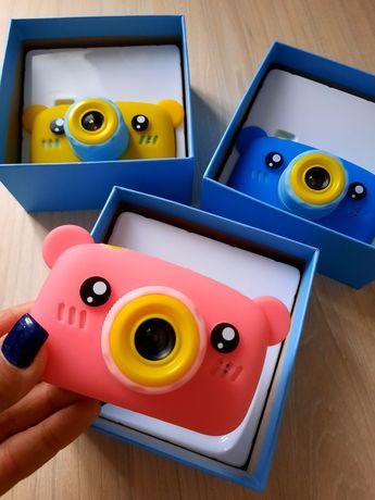 Детский цифровой фотоаппарат мишка, игрушка фотик для детей,фотокамера