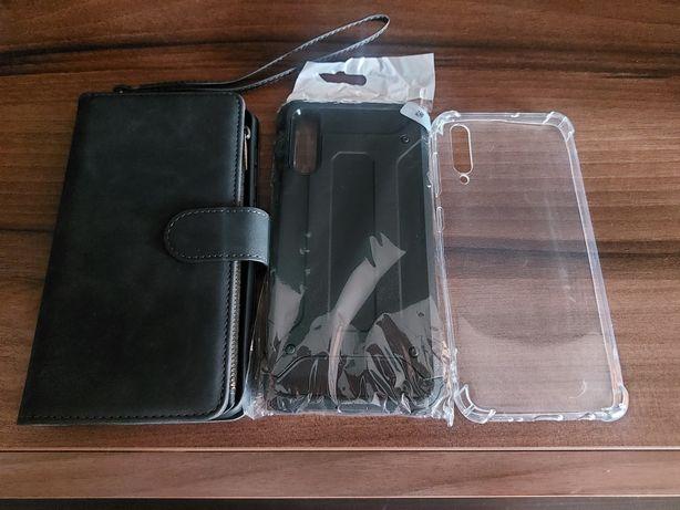 Etui cover samsung A50 portfel nowe