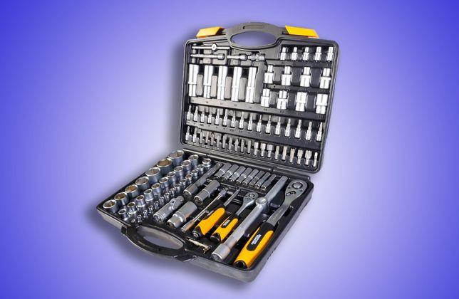 Набор инструментов, торцевых насадок, бит, ключей 111 эл 78-5111