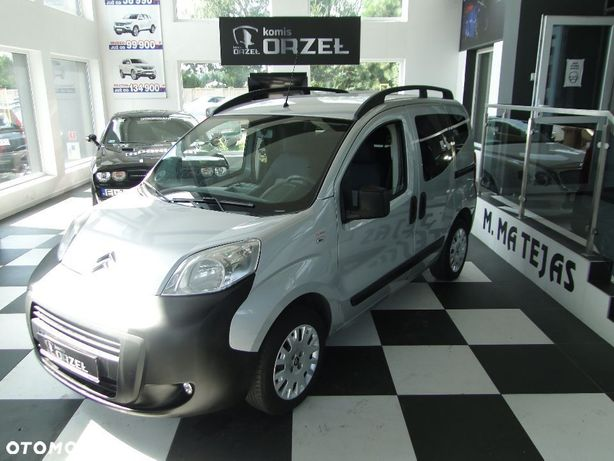 Citroën Nemo Klimatyzacja / 2x Przesuwane Drzwi / Gwarancja