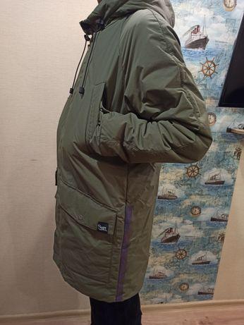"""Куртка """"Staff"""",цвет хаки, зима размер М."""