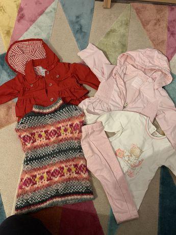 Zestaw dla dziewczynki kurtka wiosenna rozm74/80 Mayoral