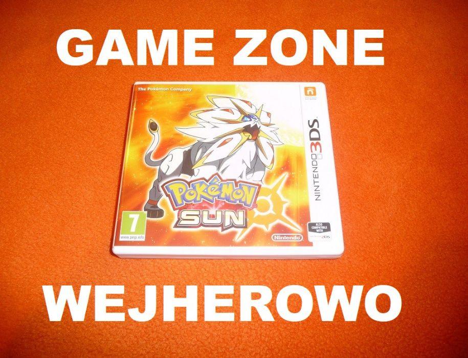 Pokemon Sun Nintendo 3DS + 2DS ! Wejherowo ! Gwarancja ! Wymiana Wejherowo - image 1