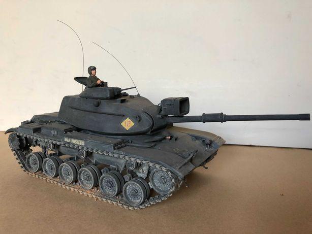 OPORTUNIDADE: Figura militar - miniatura de carro de combate M60