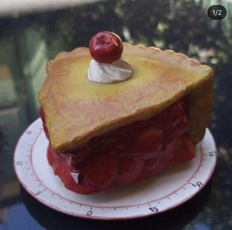 Таймер в виде куска пирога