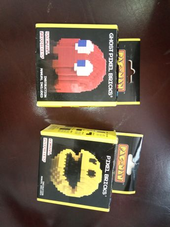 Klocki Pac-Man jak LEGO nowe