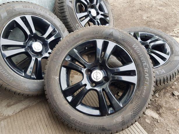 Koła zimowe 185/65/15 Opel Corsa D Corsa E Combo Astra 4x100
