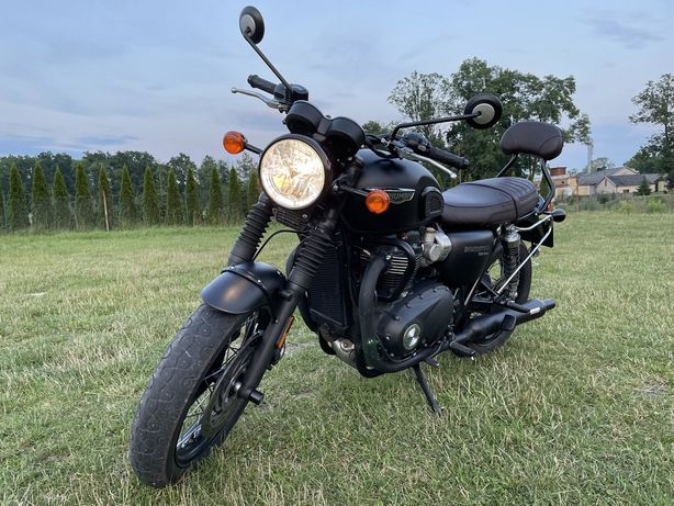 Triumph Bonneville T120 black z 2019 roku. Stan idealny!