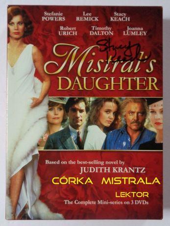 Córka Mistrala / Mistral's Daughter (1984) DVD Judith Krantz lektor PL